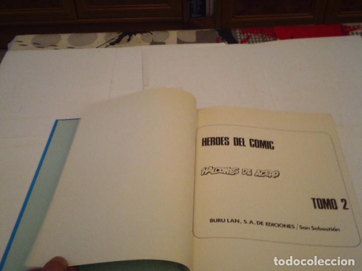 Cómics: HALCONES DE ACERO - BURU LAN - COMPLETA - BUEN ESTADO - GORBAUD - Foto 15 - 119619103