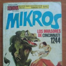 Cómics: PYTHON : MIKROS Nº 15. Lote 119982679