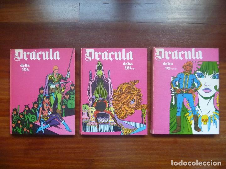 DRACULA TOMOS 4, 5 Y 6 BURULAN DELTA 99 CHOLLO (Tebeos y Comics - Buru-Lan - Drácula)