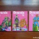 Cómics: DRACULA TOMOS 4, 5 Y 6 BURULAN DELTA 99 CHOLLO. Lote 119985667