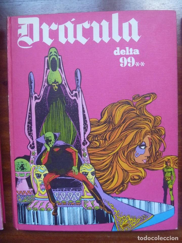 Cómics: DRACULA TOMOS 4, 5 Y 6 BURULAN DELTA 99 CHOLLO - Foto 3 - 119985667