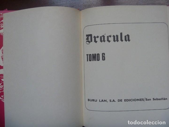 Cómics: DRACULA TOMOS 4, 5 Y 6 BURULAN DELTA 99 CHOLLO - Foto 8 - 119985667