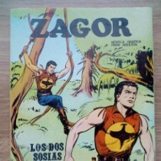 Cómics: ZAGOR. Nº 5. LOS DOS SOSIAS. BURULAN. Lote 120128299