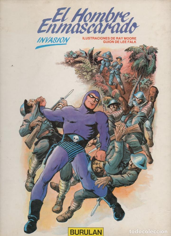 HOMBRE ENMASCARADO Nº 2 TAPA DURA : INVASIÓN (1983) (Tebeos y Comics - Buru-Lan - Hombre Enmascarado)