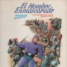 Cómics: HOMBRE ENMASCARADO Nº 2 TAPA DURA : INVASIÓN (1983). Lote 120553579