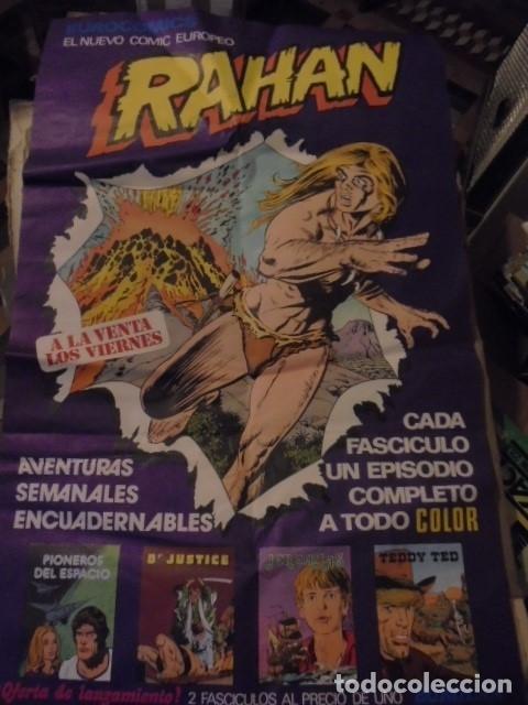 Cómics: POSTER GIGANTE RAHAN PUBLICIDAD KIOSKOS - 1975 - ENVIO GRATIS - Foto 4 - 122781727