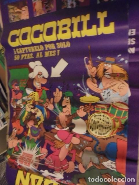 POSTER COCOBILL - AÑOS 70 - JACOVITTI - ENVIO CERTIFICADO GRATIS (Tebeos y Comics - Buru-Lan - Otros)