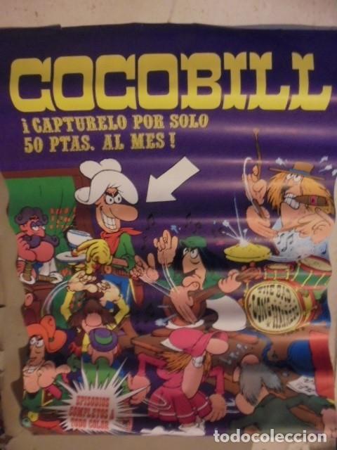 Cómics: POSTER COCOBILL - AÑOS 70 - JACOVITTI - ENVIO CERTIFICADO GRATIS - Foto 2 - 160276796