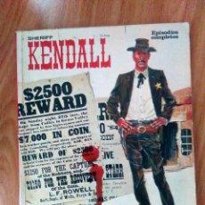 Cómics: SHERIFF KENDALL VOL 1 (LOS HERMANOS DALTON, RALPH KENDALL) - A DEL CASTILLO- BURU LAN 1973- RÚSTICA. Lote 121490023