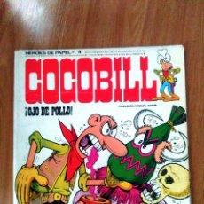 Cómics: COCOBILL VOL 4 (OJO DE POLLO) - JACOVITTI - BURU LAN 1974- RÚSTICA. Lote 121490527