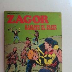 Cómics: ZAGOR. Nº 71. BURU LAN.. Lote 121529083