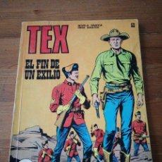 Cómics: TEX. EL FIN DE UN EXILIO. . Lote 121607663