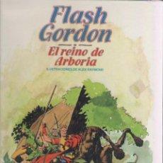 Cómics: FLASH GORDON-BURULAN-AÑO 1983-FORMATO CARTONE-COLOR-ALEX RAYMOND-Nº 7-EL REINO DE ARBORIA. Lote 121715875