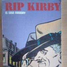 Cómics: RICK KIRBY TOMO 1 EL CASO FARADAY (1974). Lote 121984983