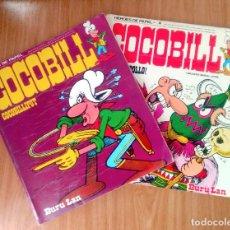 Cómics: COCOBILL VOL 1 Y 4 (COCOBILLIPUT Y OJO DE POLLO) - JACOVITTI - BURU LAN 1974- RÚSTICA. Lote 122278731