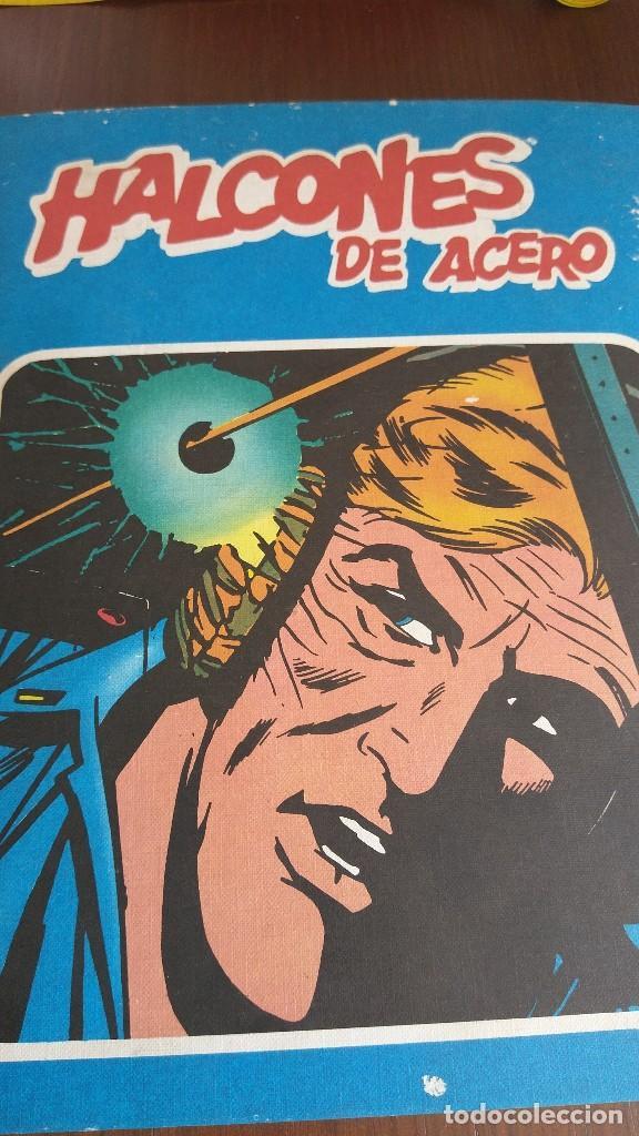 HALCONES DE ACERO. TOMO 1. BURU LAN. 1974 (Tebeos y Comics - Buru-Lan - Halcones de Acero)