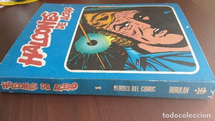 Cómics: Halcones de acero. Tomo 1. Buru Lan. 1974 - Foto 3 - 122448695