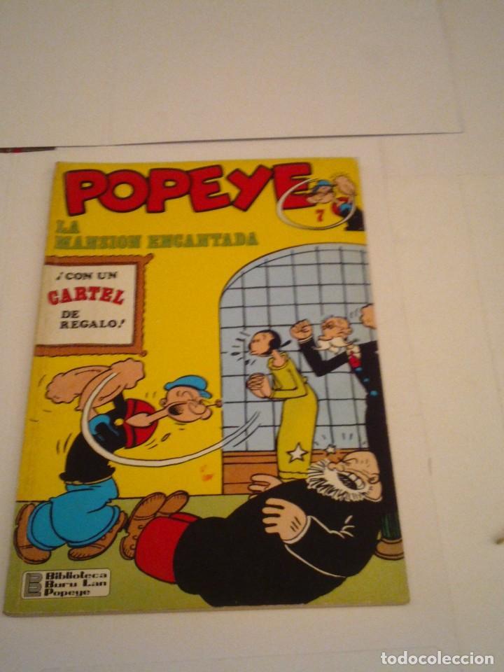 POPEYE - NUMERO 7 - BURU LAN - BE - GORBAUD - CJ 97 (Tebeos y Comics - Buru-Lan - Popeye)