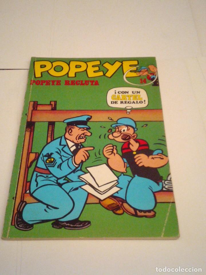 POPEYE - NUMERO 14 - BURU LAN - GORBAUD - CJ 97 (Tebeos y Comics - Buru-Lan - Popeye)