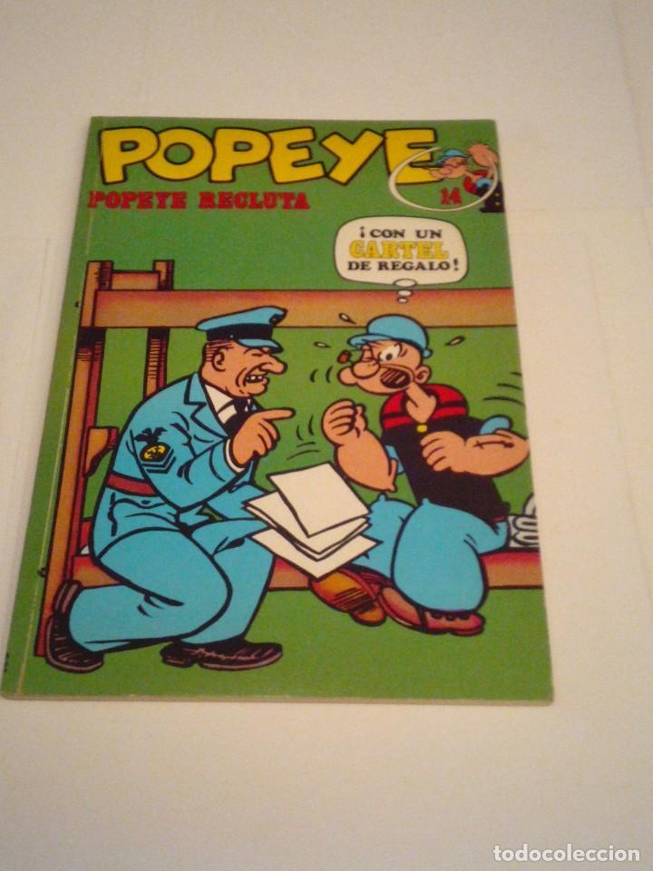 POPEYE - NUMERO 14 - BURU LAN - MBE - GORBAUD - CJ 97 (Tebeos y Comics - Buru-Lan - Popeye)