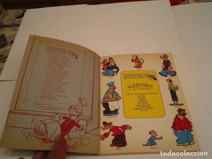 Cómics: POPEYE - NUMERO 14 - BURU LAN - MBE - GORBAUD - cj 97 - Foto 3 - 122459127