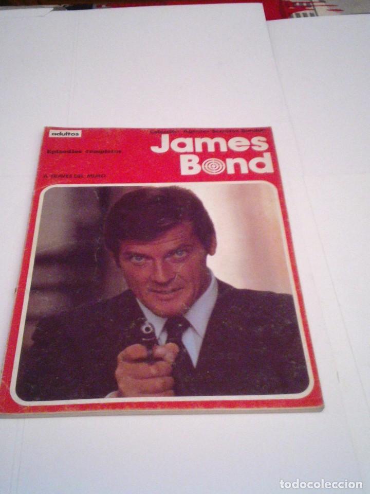 JAMES BOND- A TRAVES DEL MURO - ALBUM NUMERO 1 - BURU LAN - BUEN ESTADO - GORBAUD - CJ 96 (Tebeos y Comics - Buru-Lan - James Bond)