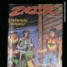 Cómics: F1 ZAGOR CARNAVAL TRAGICO AÑO 1984 Nº 17 EDICIONES ZINCO. Lote 123115619