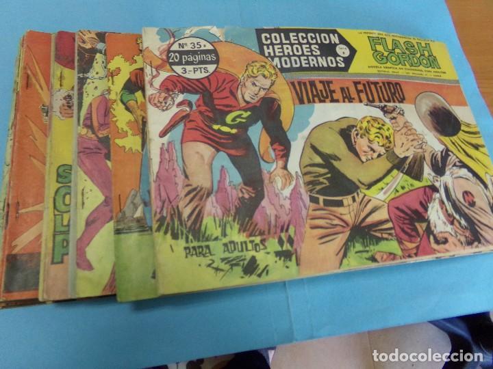 23 TEBEOS,HÉROES MODERNOS,SERIE B,FLASH GORDON, EDITORIAL DOLAR (Tebeos y Comics - Buru-Lan - Hombre Enmascarado)