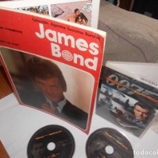 Cómics: LOTE JAMES BOND CÓMIC 1974 BURULAN + DVD MUNDO NUNCA ES SUFICIENTE ULTIMATE EDIC 2 DISCOS, OFERTA. Lote 124547751