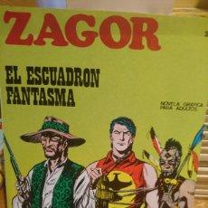 Comics : ZAGOR EL ESCUADRÓN FANTASMA NOVELA GRÁFICA PARA ADULTOS NÚMERO 20. Lote 124695492