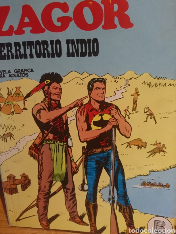 ZAGOR TERRITORIO INDIO NÚMERO 26 NOVELA GRÁFICA PARA ADULTOS (Tebeos y Comics - Buru-Lan - Zagor)