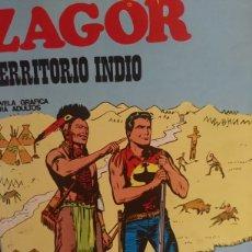 Cómics: ZAGOR TERRITORIO INDIO NÚMERO 26 NOVELA GRÁFICA PARA ADULTOS. Lote 124696244
