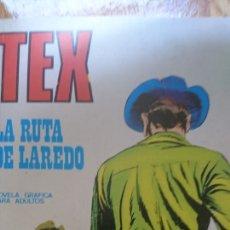Cómics: TEX LA RUTA DE LAREDO NÚMERO 37 NOVELA GRÁFICA PARA ADULTOS. Lote 124699868