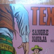 Cómics: TEX SANGRE NAVAJA NÚMERO 44 NOVELA GRÁFICA PARA ADULTOS. Lote 124700006