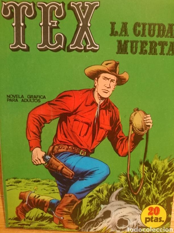 TEX LA CIUDAD MUERTA NÚMERO 5 (Tebeos y Comics - Buru-Lan - Tex)
