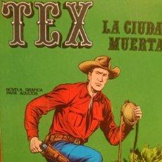 Cómics: TEX LA CIUDAD MUERTA NÚMERO 5. Lote 124701264