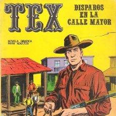 Cómics: TEX Nº 15. DISPAROS EN LA CALLE MAYOR. BURU LAN. 1971. Lote 125127083
