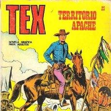Cómics: TEX Nº 23. TERRITORIO APACHE. BURU LAN. . Lote 125127427