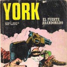 Cómics: YORK Nº 5. EL FUERTE ABANDONADO. BURU LAN. 1971.. Lote 125127939