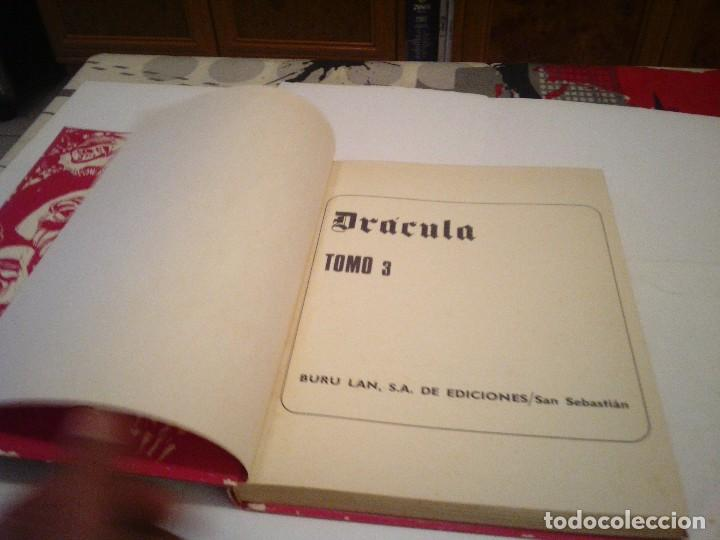Cómics: DRACULA - BURU LAN - TOMO 3 - COMPLETO - GORBAUD - Foto 3 - 125183171