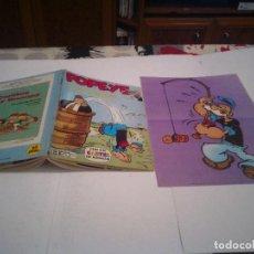 Fumetti: POPEYE - NUMERO 8 - BURU LAN - POPEYE ALMIRANTE - BUEN ESTADO - CON POSTER - GORBAUD. Lote 125330347