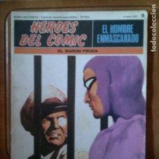 Cómics: COMIC EL HOMBRE ENMASCARADO N,6 DE 1971. Lote 126386291