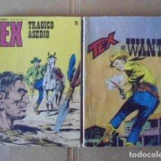 Cómics: LOTE 2 COMICS DE TEX; Nº 70 MUY DIFICIL + COMIC TEX EN ITALIANO. Lote 127364635