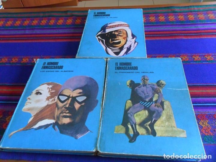 GRAN PRECIO. EL HOMBRE ENMASCARADO TOMO VOLUMEN NºS 1, 2 Y 5. BURU LAN AÑOS 70. (Tebeos y Comics - Buru-Lan - Hombre Enmascarado)