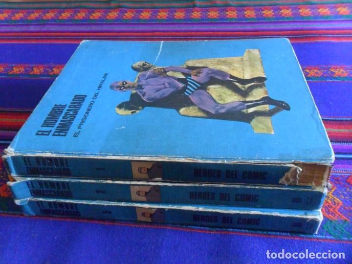 Cómics: GRAN PRECIO. EL HOMBRE ENMASCARADO TOMO VOLUMEN NºS 1, 2 Y 5. BURU LAN AÑOS 70. - Foto 2 - 127451795