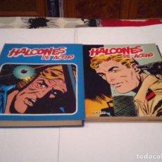 Cómics: HALCONES DE ACERO - BURU LAN - COMPLETA - 1 TOMO MAS 3 ESPECIALES - MUY BUEN ESTADO - GORBAUD. Lote 127479099