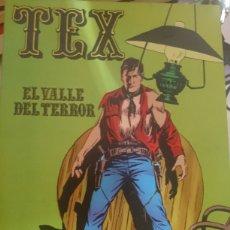 Cómics: TEX EL VALLE DEL TERROR NÚMERO 1. Lote 127542239