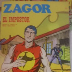 Cómics: ZAGOR EL IMPOSTOR NÚMERO 21. Lote 127542263