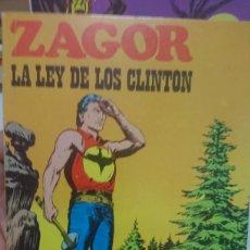 Cómics: ZAGOR LA LEY DE LOS CLINTON NÚMERO 31. Lote 127542655
