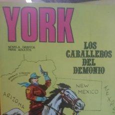 Cómics: YORK LOS CABALLEROS DEL DEMONIO NÚMERO 3. Lote 127542866